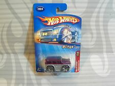 2005 HOT WHEELS ''FIRST EDITIONS #034 = MERCEDES-BENZ G500 = PURPLE/SILVER ,0715