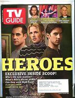 TV Guide Magazine October 23-29 2006 Ali Larter EX w/ML 122016jhe
