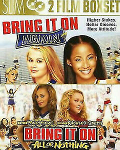 Bring It On: Again + Bring It On: All Or Nothing DVD Cheerleading Movie