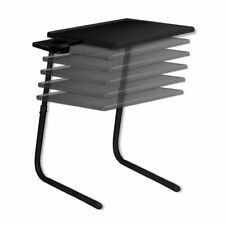 Table Mate ( 2020 Upgraded & Improved ) Original TV Tray Table (Black) NEW