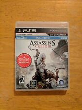 Assassin's Creed III, COMPLETE (Sony PlayStation 3, 2012)