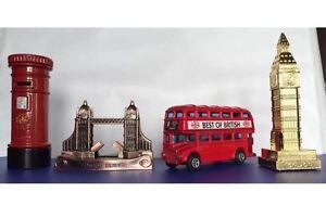 London Big Ben Tower Bridge Phone Box Red Bus Pencil Sharpeners Souvenir Gift