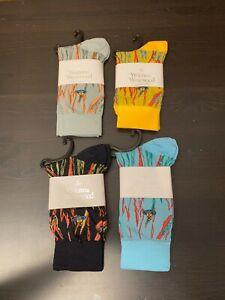 Vivienne Westwood special flame pattern Socks