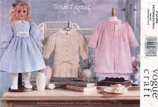 "VOGUE Old Fashion Doll Clothes Pattern 7038 Size 18"" UNCUT"