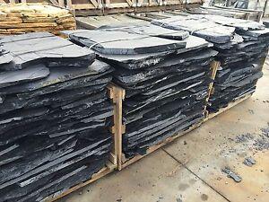Polygonalplatten,Bruchplatten,Schiefer,Schieferplatten,Bruchsteinplatten 2-3cm