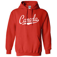 Canada Script & Tail HOODIE - Hooded National Team Jumper Sweatshirt  All Colors