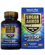 Nature's Plus, Sugar Armor, Sugar Blocker, Weight Loss Aid, 60 Veggie Caps