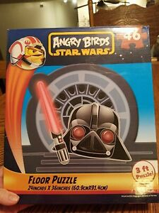 ANGRY BIRDS STAR WARS 46 PC. PUZZLE USED.