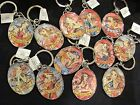 Isabella Fiore Tattoo Printed Zodiac Keychain - RARE From 1990's MSRP $25.00 NWT