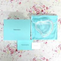 Tiffany & Co. Crystal Box Open Heart Elsa Peretti with Box Made in Japan