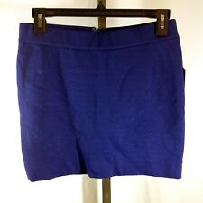 NEW Guess Purple SKIRT Size M Lined Metallic