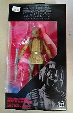 "NEW Hasbro Star Wars: The Force Awakens Black Series 6"" #10 Resistance Trooper"