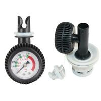 Thermometer Connector Air Pressure Gauge For Inflatable Boat Kayak Raft Surfing