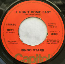 RINGO STARR / IT DON'T COME EASY / CAPITOL ORANGE LABEL 1975-1978