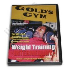 Weight Strength Training Golds Gym 2 Intermediate Dvd Charles Glass bodybuilding