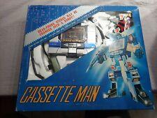 Vintage Shiantai CASSETTE MAN Soundwave  Transformers Microman Microchange 1980s