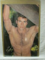 JON-ERIK HEXUM VINTAGE POSTER GARAGE 1983 HOT GUY CNG87