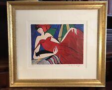 Linda Le Kinff Serigraph 'Symphonie' Ltd Edition #7/350 Pencil Signed Framed COA
