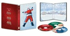 The Santa Clause 3-Movie Collection - (Blu-ray 3 Disc Set ) Steelbook - VG