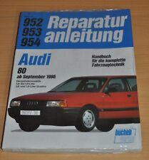 AUDI 80 B3 1,6 1,8 1,9 Quattro GT Coup Vierzylinder 1986 Reparaturanleitung B952