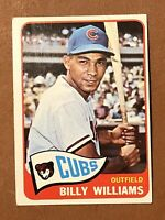 1965 Topps Billy Williams Card #220 EX-NM HOF Chicago Cubs