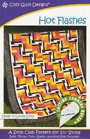 Hot Flashes Quilt Pattern - Cozy Quilt Designs
