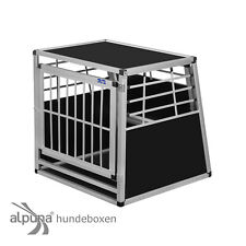 N46 Hundetransportbox Gitterbox Aluminio Transportín Perro Alubox Caja Coche