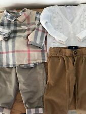 Burberry  Baby Boy & BabyCottons  Party Set, 9 month ,400 $ cost