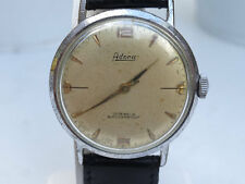 Watch / Horloge Vintage Adora 17 jewels shockproof men's watch