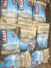 68 CLIF WHITE CHOCOLATE MACADAMIA  HEALTH  /  NUTRITION BARS NO RESERVE ORGANIC