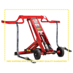 500 Lb. Riding Lawn Mower Lift Maintenance Jack Folding Universal ZTR Wheel Pads