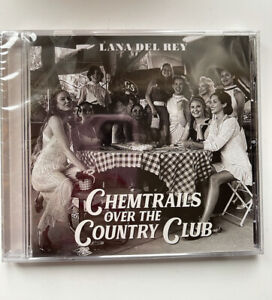 Lana Del Rey Chemtrails Over The Country Club CD + Signed Art Card