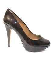 sz 7.5 /38 ZARA WOMAN patent leather platform heels stiletto sexy shoes NWOT