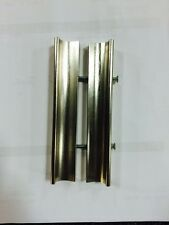 Shower Door Handle For Framed Door Brushed Nickel Or Chrome (silver)