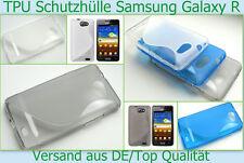 Samsung Galaxy R GT-i9103, funda protectora, funda de silicona, funda tipo bumper, cáscara bolso