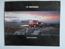 LAND ROVER Defender orig 1991 UK Market large format brochure - 90 110 130