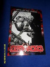 """2012 BREYGENT DEAD WORLD ZOMBIE CARD """" BIRTH OF THE GRAKKEN """" #9"""