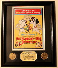 Limited Edition One Hundred and One Dalmatians  50th Anniversary  Frame Art