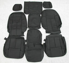 07 08 09 10 11 12 13  Chevy Silverado Crew Katzkin Leather seat cover set
