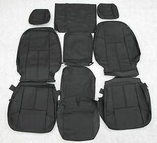 07 08 09 10 11 12 13  Chevy Silverado Crew Katzkin Leather seat cover set