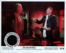 Lot of 3b, DANNY KAYE, color stills ON THE DOUBLE (1961) mini lobby cards/stills