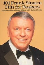 101 Frank Sinatra Hits For Buskers Learn to Play Piano Guitar MLC Music Book