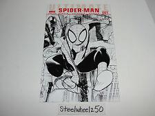 Ultimate Spiderman #1 Lafuente Sketch Variant Comic Marvel 2009 Black & White
