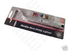 Zippo Chrome Silver Flexible Neck Flex FlexNeck Butane Lighter 121351 NEW