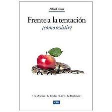 NEW - Frente a la tentacion, Como resistir? (Spanish Edition)