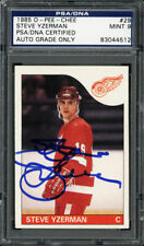1985-86 O-Pee-Chee #29 Steve Yzerman PSA/DNA Mint 9