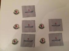 moncler patch de rechange ecusson badge small X 5