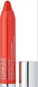 Clinique Chubby Stick Moisturizing Lip Color Balm 12 Oversized Orange New In Box