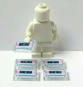 Lego 5 Tile Cassette Music Tape  Minifigure Not Included