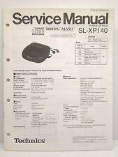 Technics Original Service Manual SL-XP140 SL-XP141C Portable CD Player